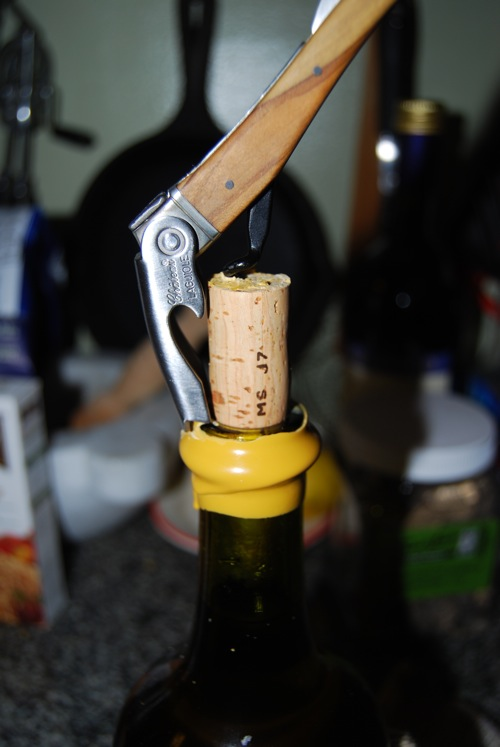 wine bottle wax