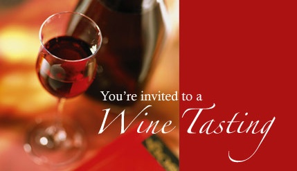 Wine Tasting Invitations – Wine Tasting Party Invitation Wording